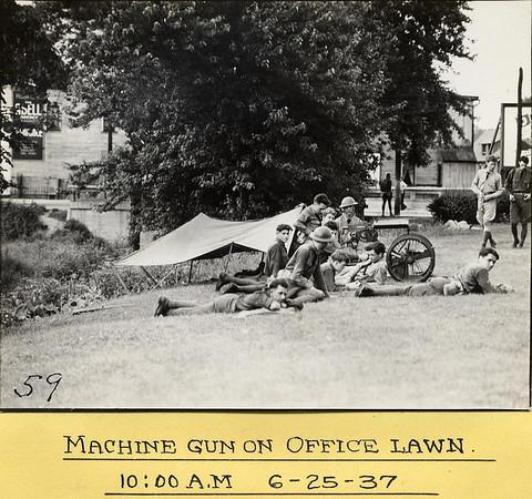R.I.A. M1 MACHINE GUN MOUNT