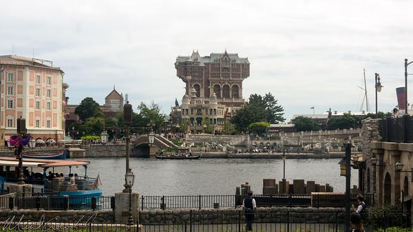 Tokyo Disney Resort, Tokyo Disneyland, Tokyo DisneySea, Tokyo Disney Sea, Mediterranean Harbor, Hotel MiraCosta, MiraCosta, Hotel, Tower Of Terror, Tower, Terror