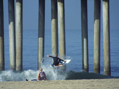 2/24/20 * DAILY SURFING PHOTOS * H.B. PIER