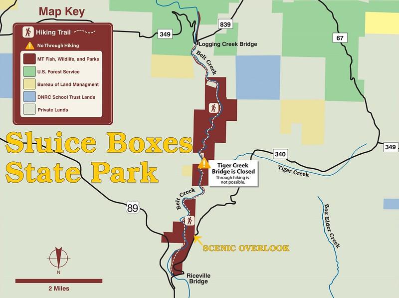 Sluice Boxes State Park