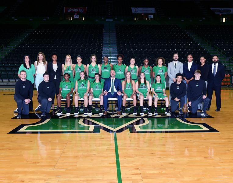 10.24.18 Women's Basketball Team Photo