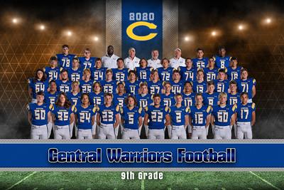Central Jr High Football