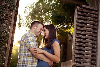 Joe and Julie's Engagement Portraits