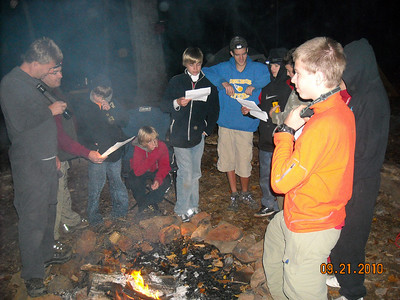 2011 Philmont Crew Shakedown Photos
