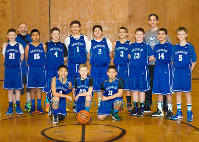 Gresham 6th Grade Basketball