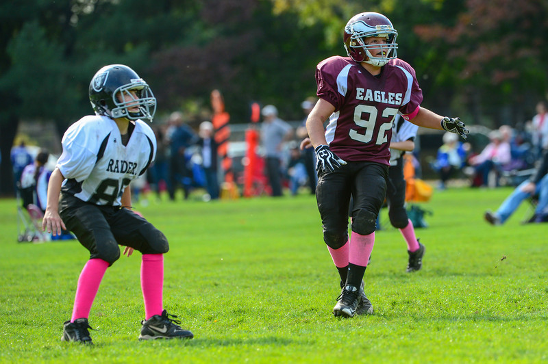 Eagles v. Raiders - October 14, 2012