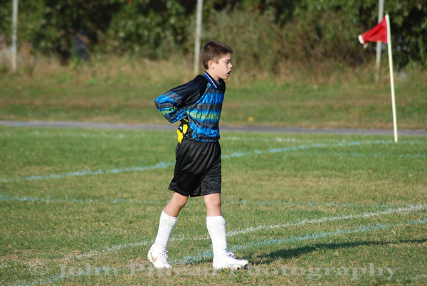 2009-09-28 Boys Soccer - Memorial vs Windham