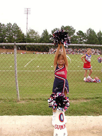 Summer's Cheerleading Years