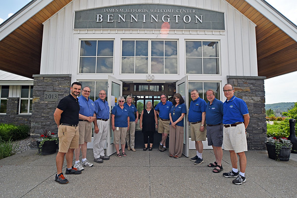 Bennington Visitors Center re-opens - 061021