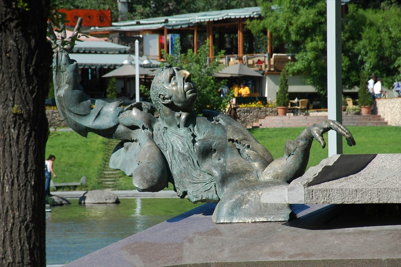 Musician's Sculpture - Yerevan, Armenia