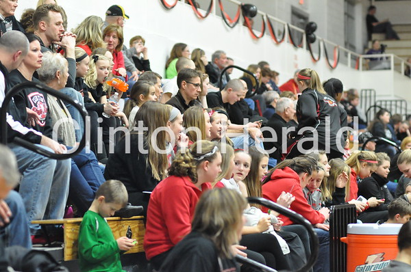 Burlington at Clinton girls (2-7-14)