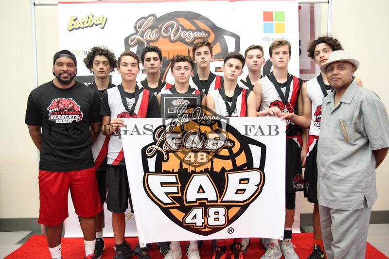 California Bearcats - 8th Grade Invite Bronze Champion