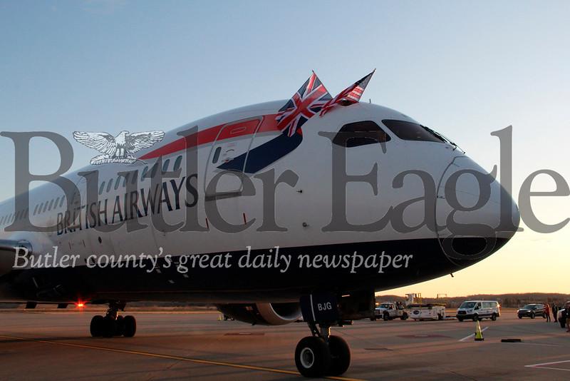 British Airway flight