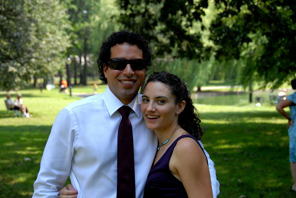 Rebecca & Diego @Auntfancies 7-25-09
