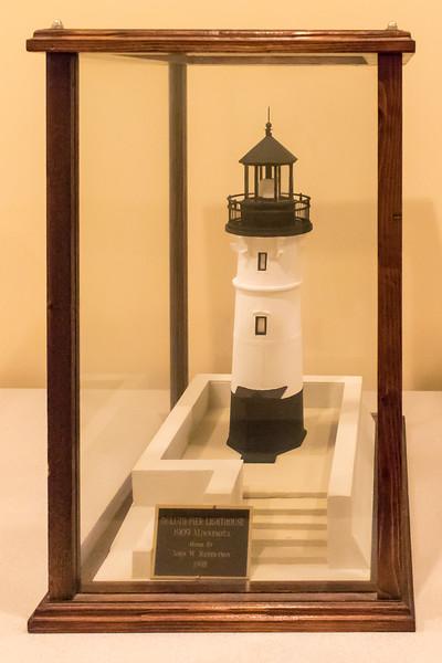 Duluth Pier Lighthouse - 1909, Model built 1998