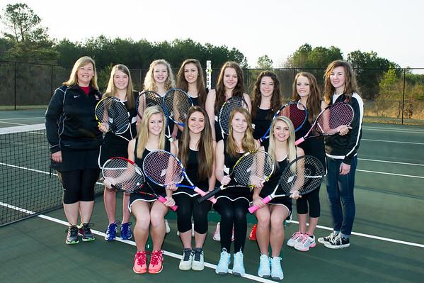 CHS Tennis 15 March 2014