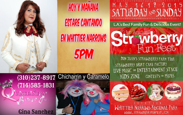 5-17-2015 1st Annual Strawberry Fun Fest