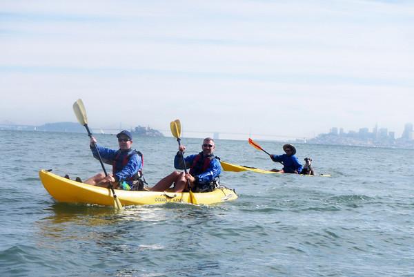 Sausalito Kayaking: Nov 2, 2013