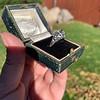 1.11ct Old European Cut Diamond Filigree Ring 12