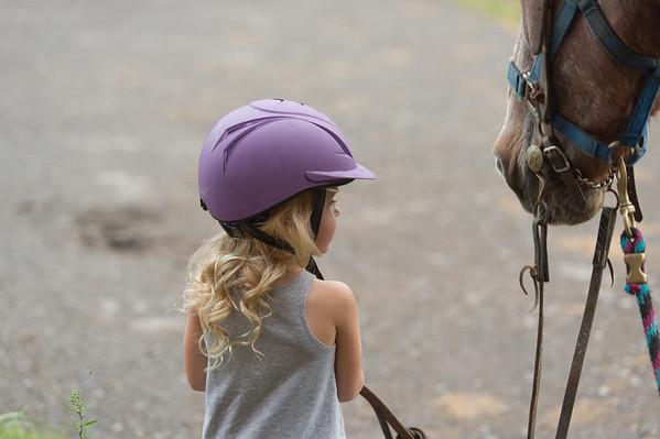 Willa's riding lesson 9-6-18