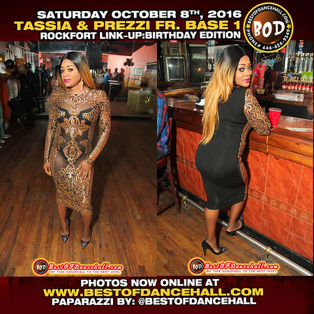 10-8-2016-BROOKLYN-Tassia As First Lady And Louie As Prezzi From Base 1 Presents A Night Call ROCKFORT LINK-UP THE BIRTHDAY EDITION