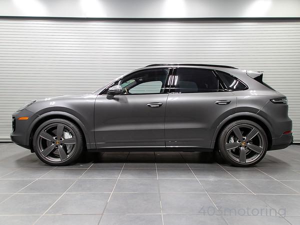 '20 Cayenne Turbo - Quarzite Grey Metallic