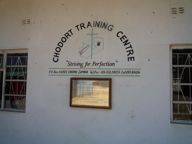 Chodort training centre