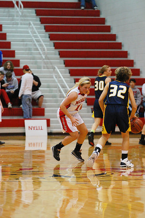 Var Girls Basketball vs Seward, 12/18/2010
