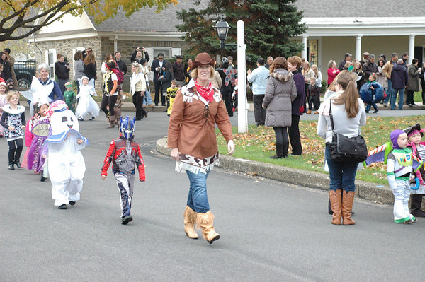 Lower School Halloween Parade