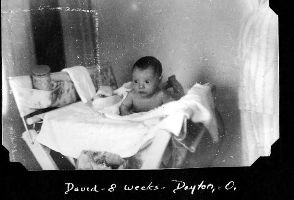 David as Infant 1943-44