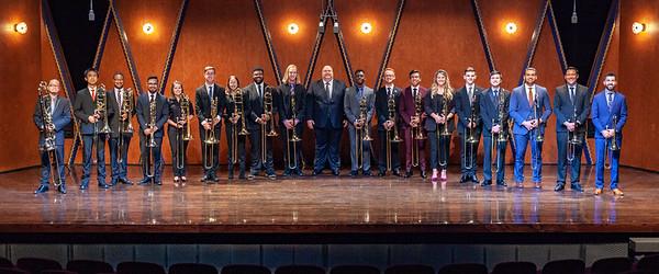 TCU Trombone Choir 2019-2020