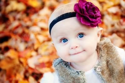 Baby Francesca, 9 months old