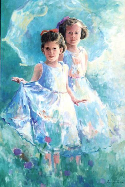 Sisters,acrylic