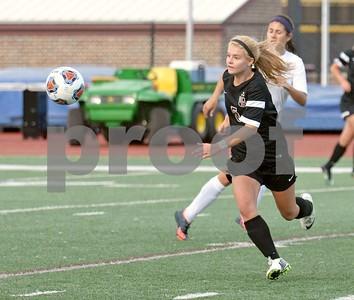 Wheaton Academy girls soccer vs Prairie Ridge