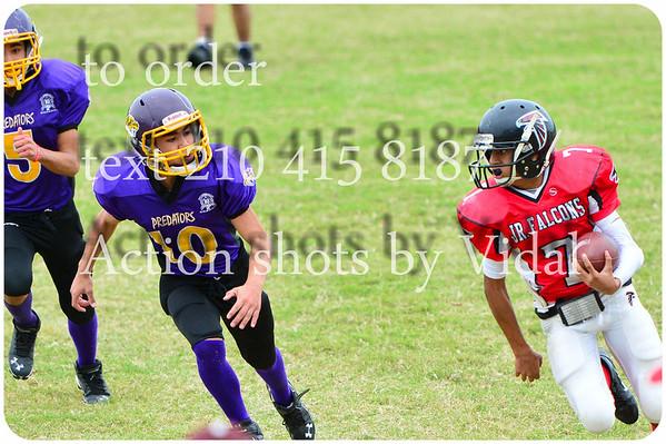 11 10 2013 Jr. Falcons Football