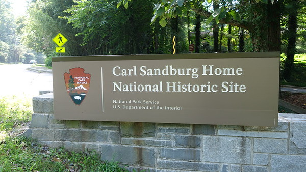 Carl Sandburg Home National Historic Site - NC - 081618