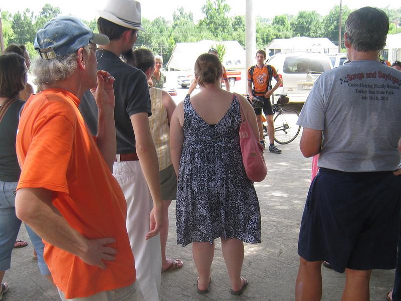 2010 07-24  Arrival at Fuller Center for Housing Intl. in Americus, GA.  lcf