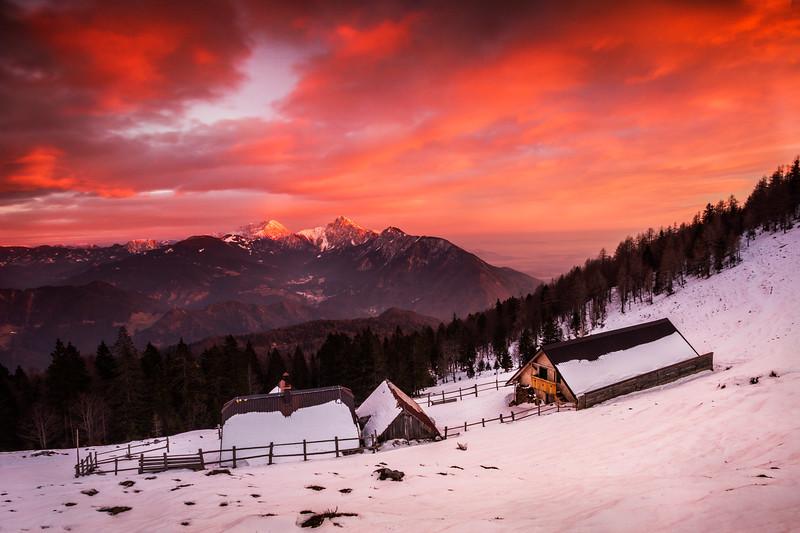 Lešanska planina / Mt. Dobrča