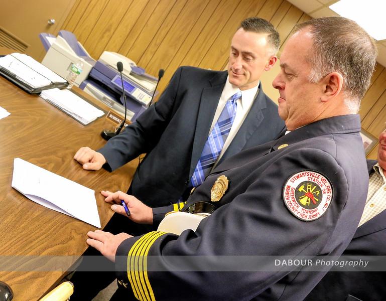 Stewartsville Fire Co Land Deal Signed