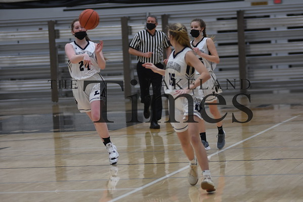LUHS Girls' Basketball vs. Three Lakes December 29, 2020