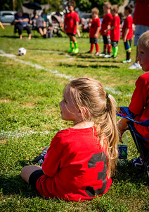 Emma's First Soccer Game
