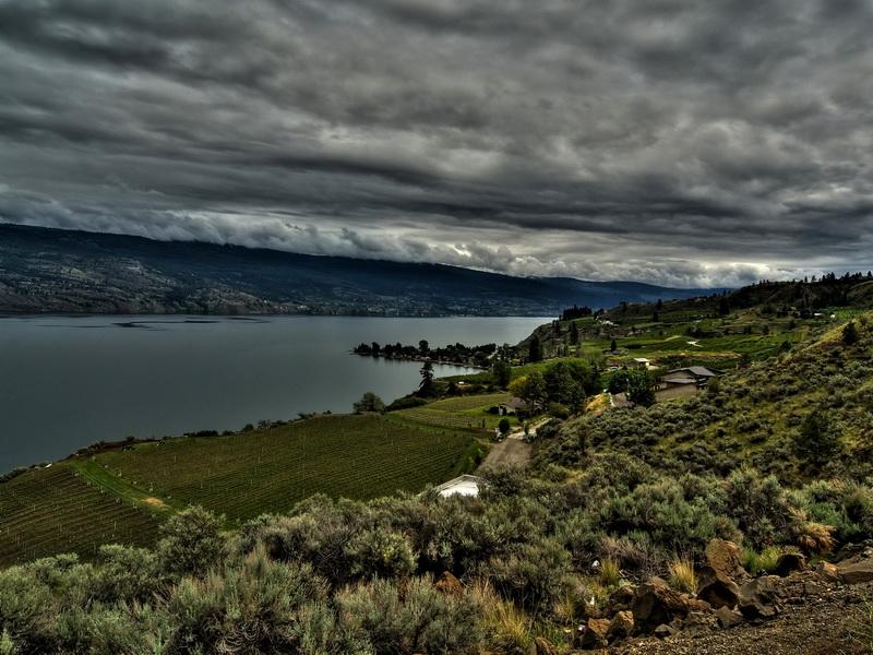 """43photo user """"SiB"""" 5 exposure HDR E500 + 7-14 @ 11mm I think?  South Okanagan lake BC Canada"""