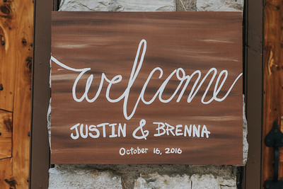 Brenna + Justin Wedding