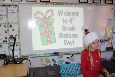 Fourth Grade Business Day 2018