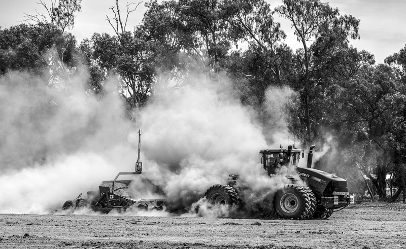Image from Red 4WD Tractors