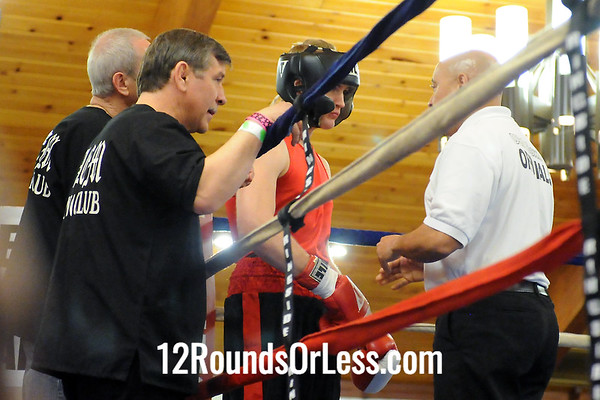Bout 5 Qawanda Williams, Cleveland, 216 -vs- Zach Daniels, Salem B.C/ 160 lbs