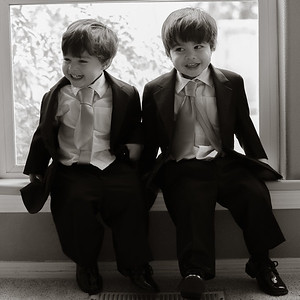 Rafa and Javi 2 year old handsome times TWO!