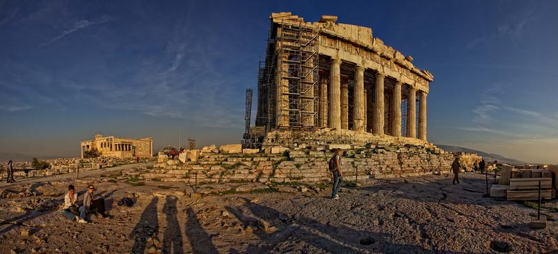 The Acropolis, Athens, Greece.