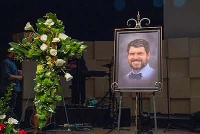 Chris's Memorial Service