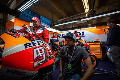 MotoGP Austin Pits